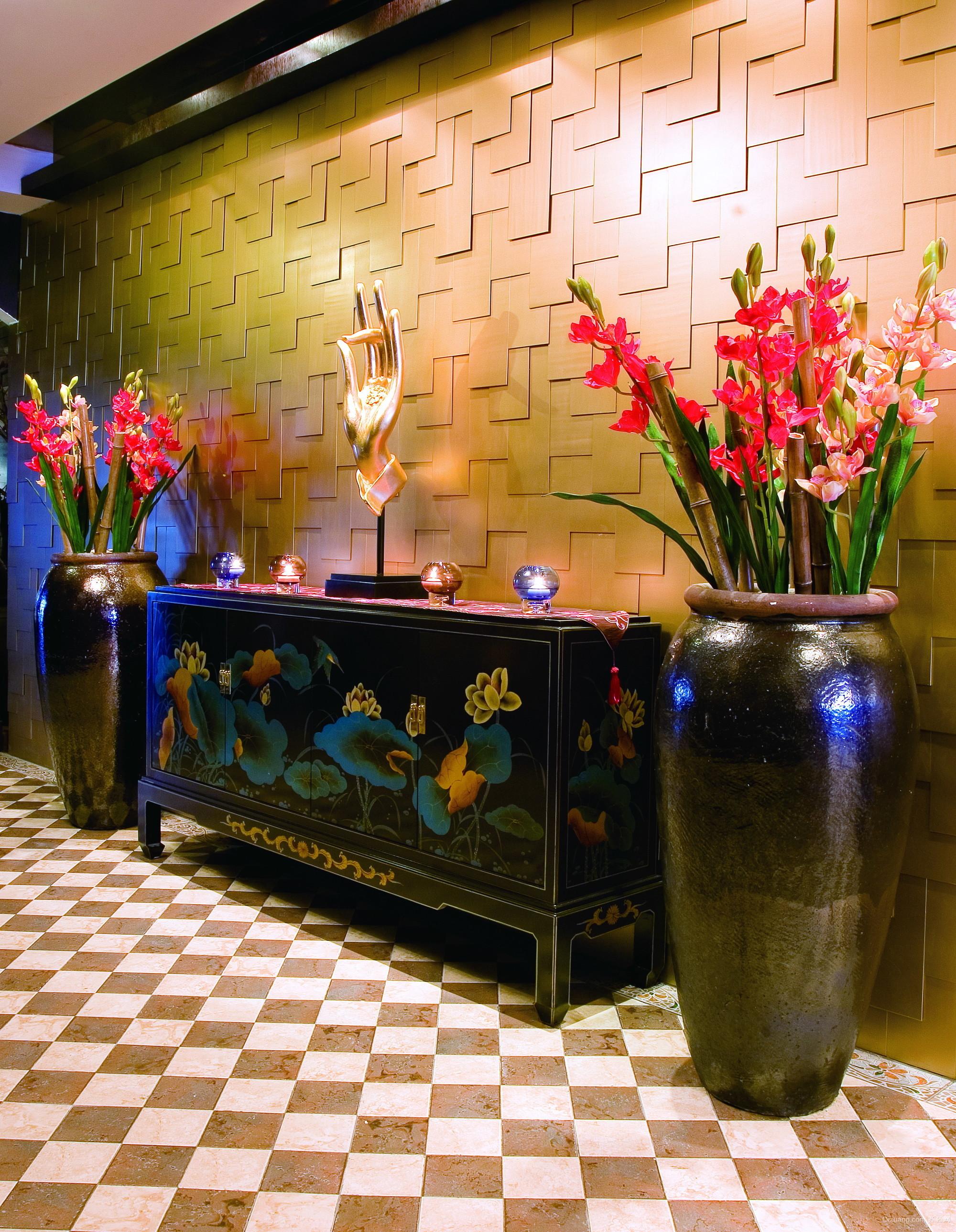 宁坡中农信餐厅现代简约装修效果图实景图