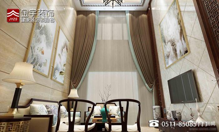 优山美地别墅中式风格装修效果图实景图