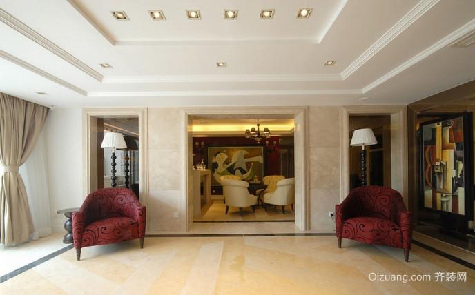富湾国际古典风格装修效果图实景图