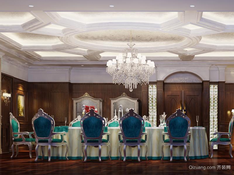 石景山俄罗斯西餐厅欧式风格装修效果图实景图