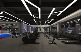 咸宁沃尔玛HQ国际健身房