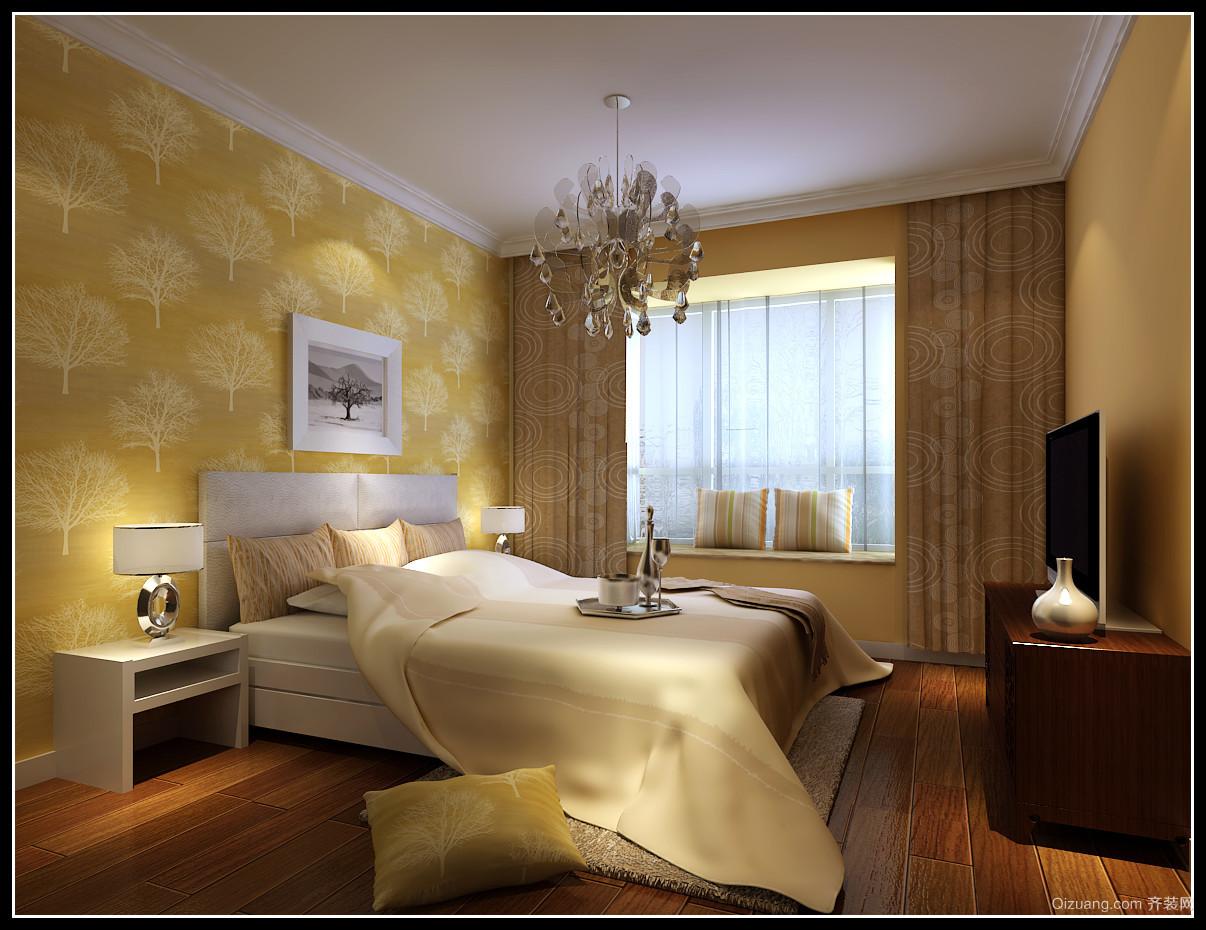 世茂香槟湖 中式风格装修效果图实景图