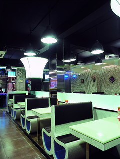 混搭风格-金黄港茶餐厅