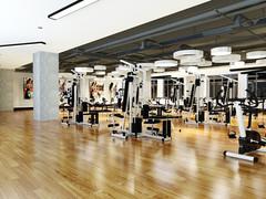 现代简约-健身房