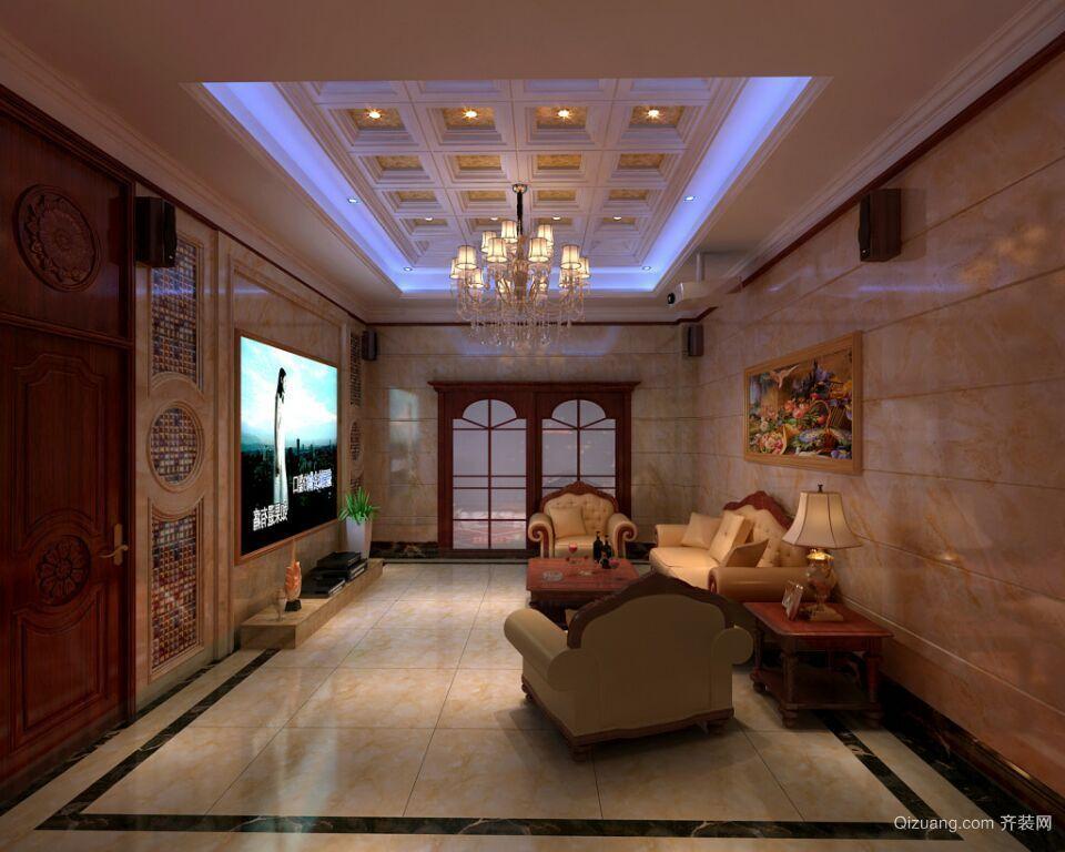 别墅案例混搭风格装修效果图实景图
