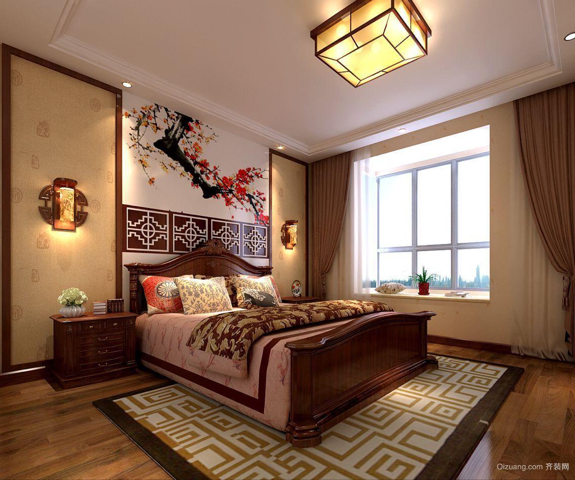 家装案例中式风格装修效果图实景图