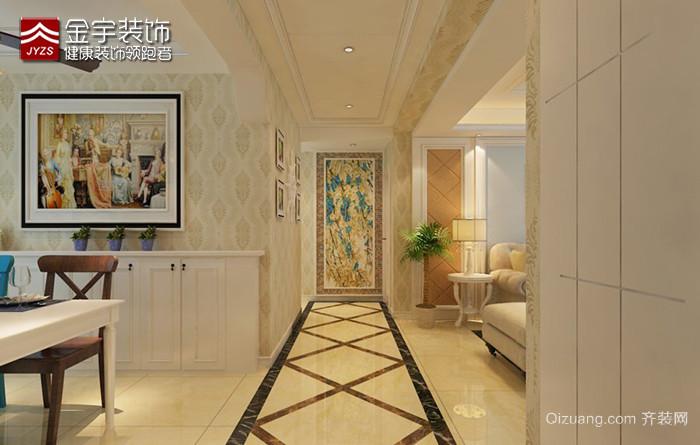 孔雀城·英国宫欧式风格装修效果图实景图