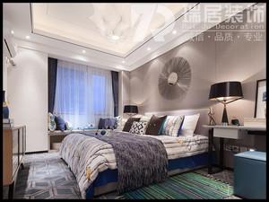 芜湖东方龙城绿竹苑121平后现代风格装修效果图