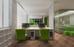 120平小型办公室装修