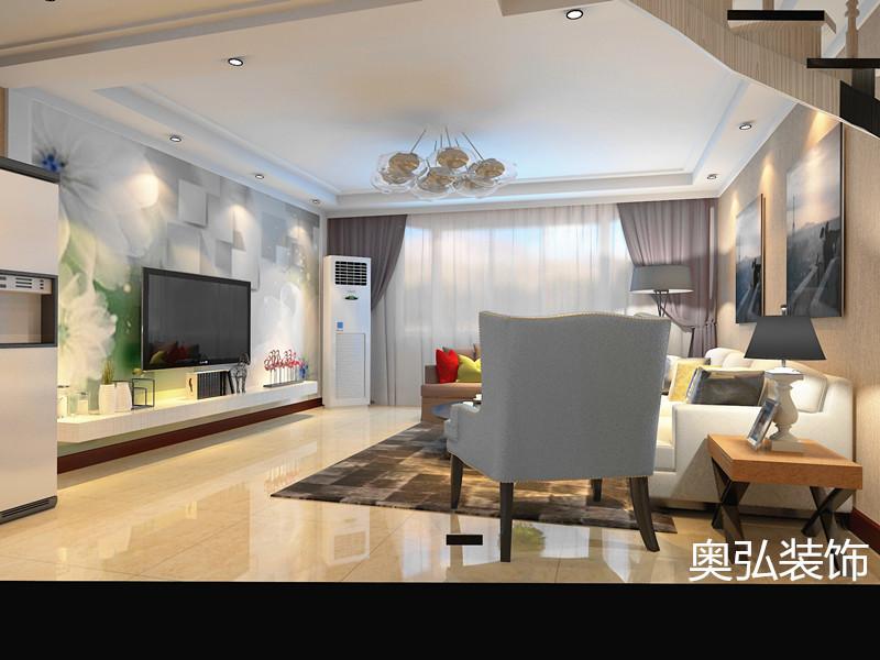 东方家园现代简约装修效果图实景图