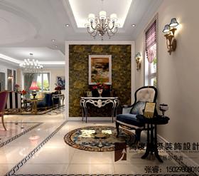 上海风格田园30-50万装修别墅_装修设计老板案例西安庄园效果西郊图片