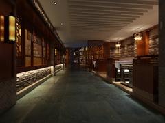 中式风格-天下一鼎餐厅改造