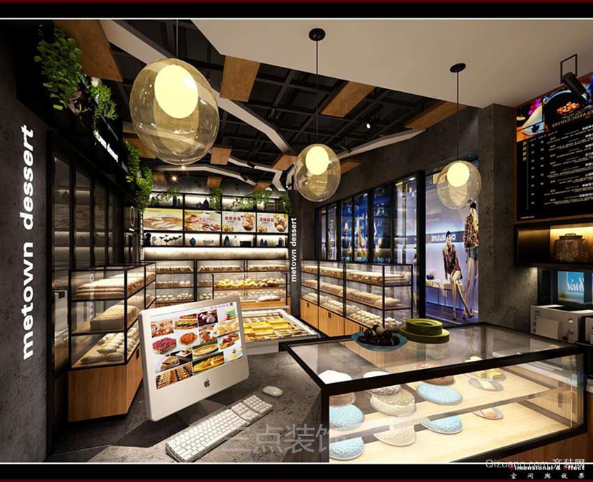 绍兴颐高广场现代简约装修效果图实景图