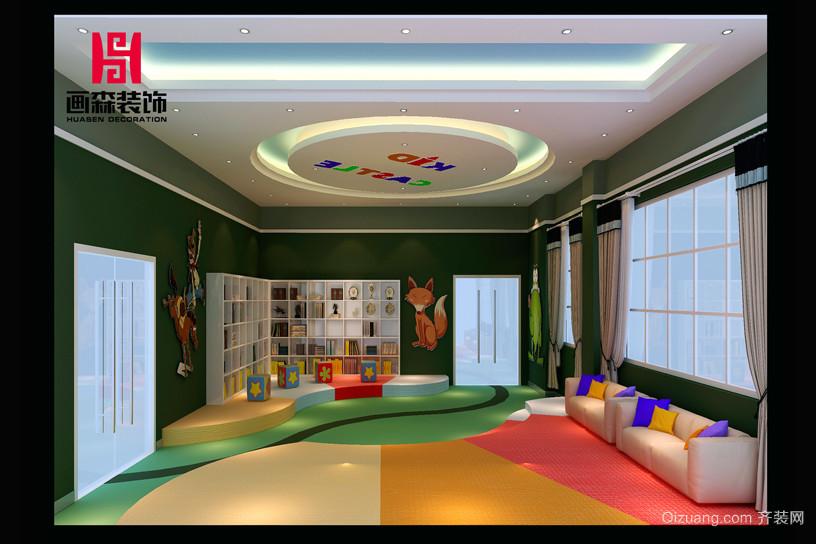 吉的堡幼儿园混搭风格装修效果图实景图