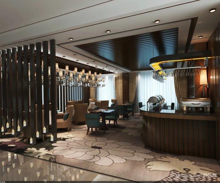 鑫悦湾度假酒店中式风格装修效果图实景图