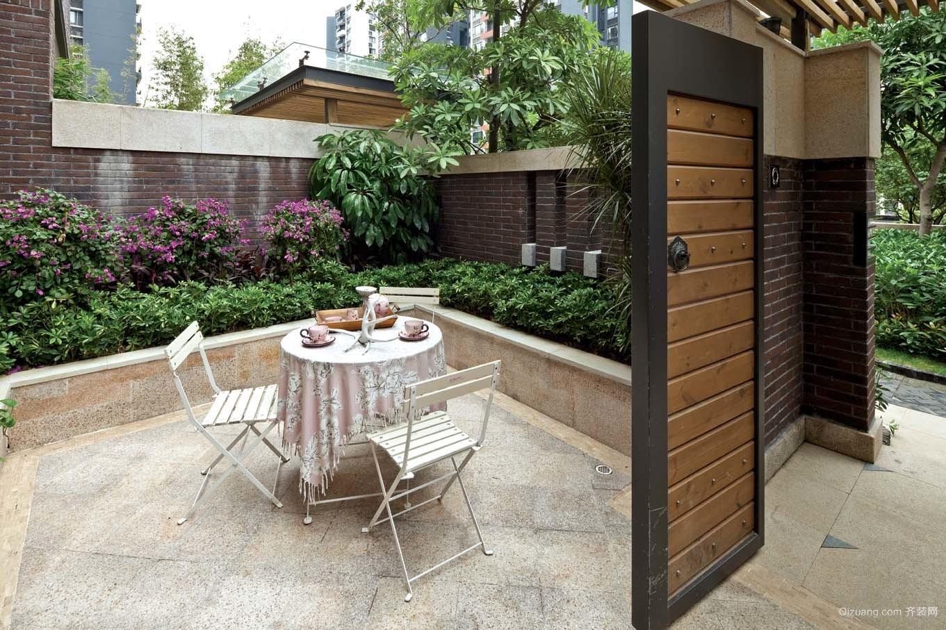美景花园欧式风格装修效果图实景图