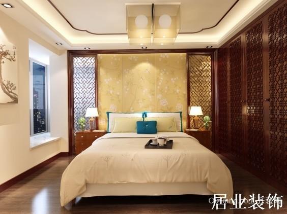 长信·书香河畔中式风格装修效果图实景图