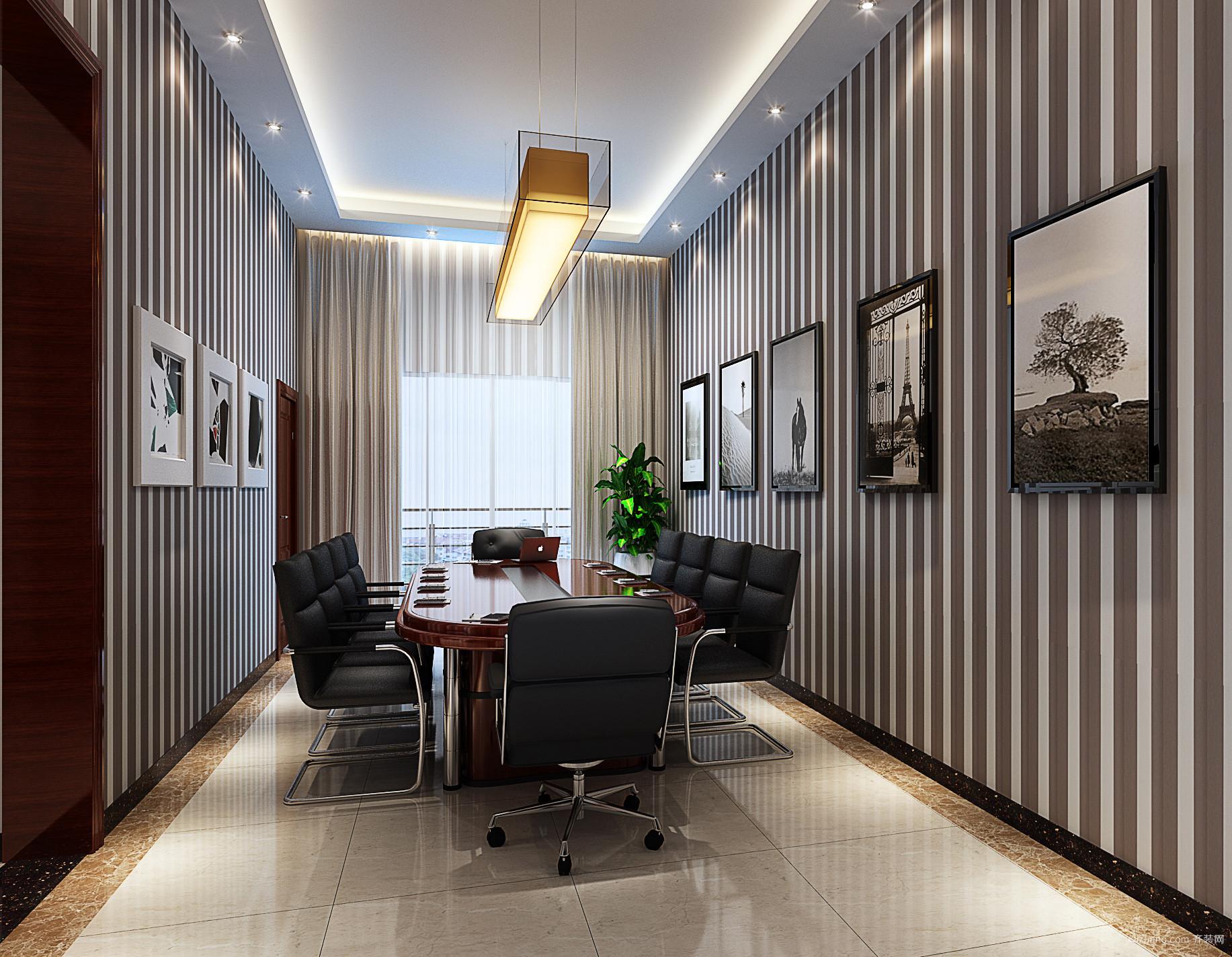 荣超英隆大厦现代简约装修效果图实景图
