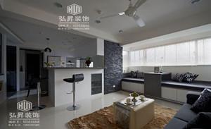 东城豪庭现代风格效果图
