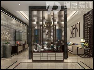 芜湖熙龙湾147平新中式风格装修案例效果图