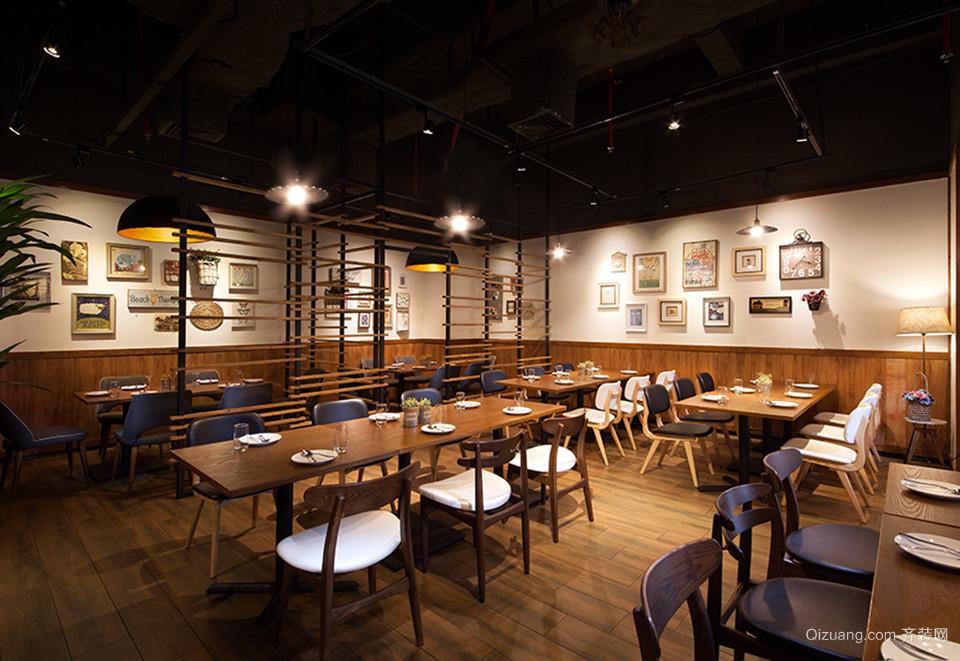 主题餐厅混搭风格装修效果图实景图