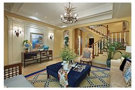 远洋庄园别墅装修设计案例