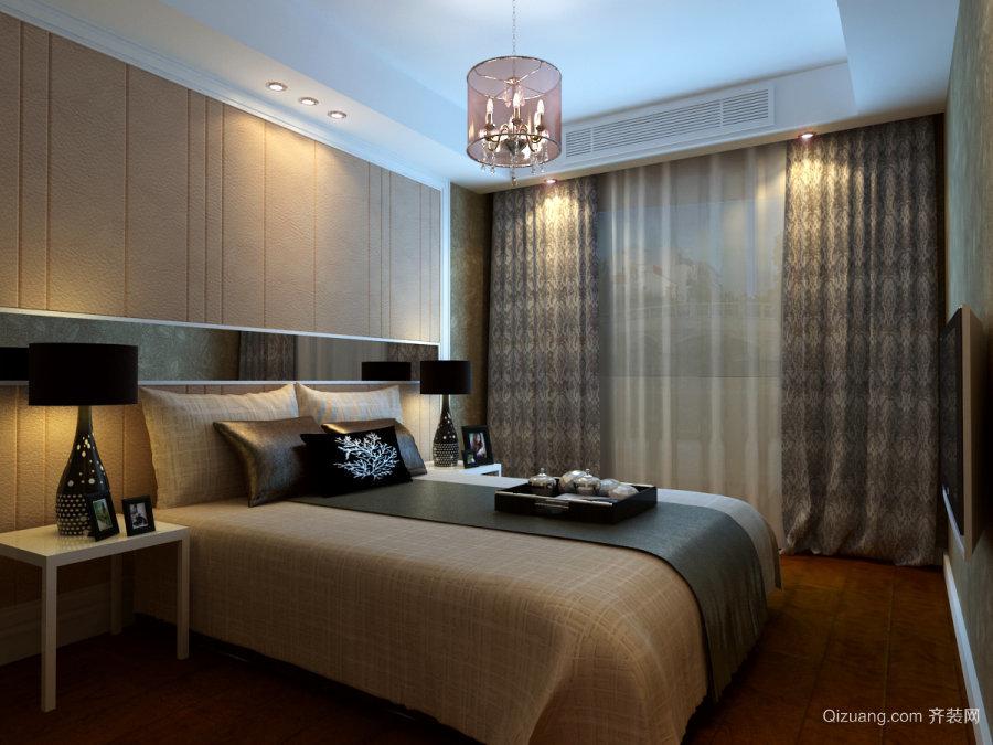 酒店现代简约装修效果图实景图