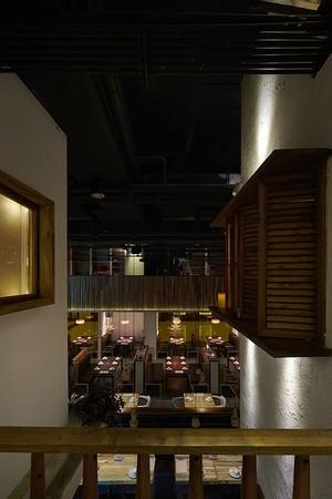 300平米餐厅空间设计
