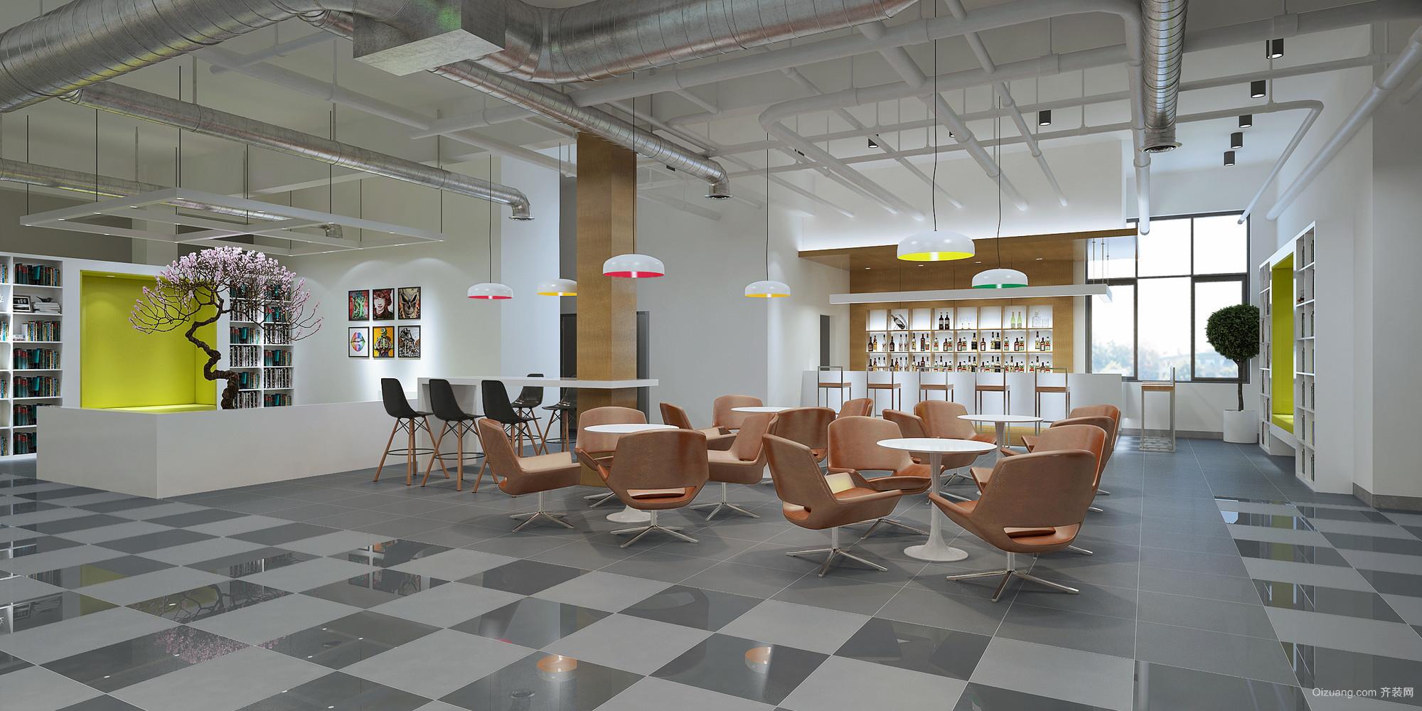 迎宾路办公室现代简约装修效果图实景图
