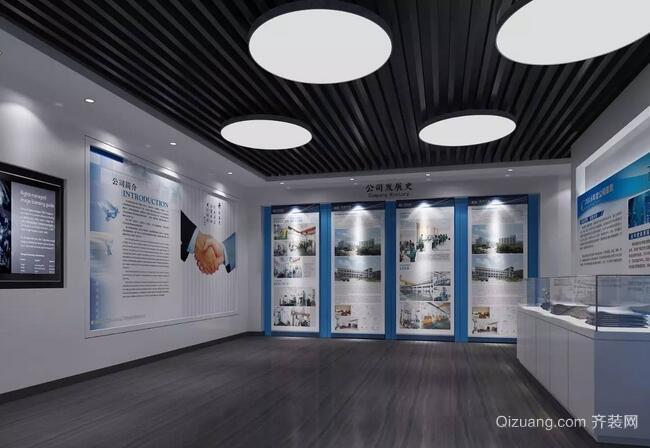 办公空间现代简约装修效果图实景图