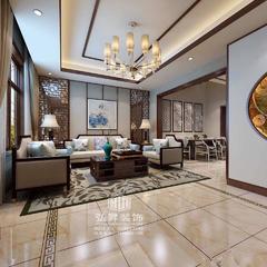 中式风格-中央城新中式风格效果图