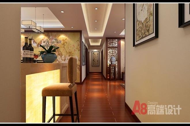 中庚·海德公园中式风格装修效果图实景图