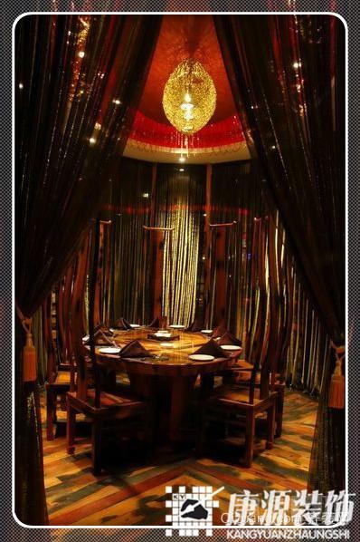 新中式自助餐厅中式风格装修效果图实景图