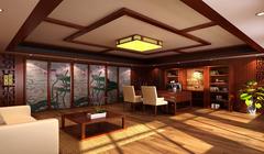 中式风格-浪漫圆桌