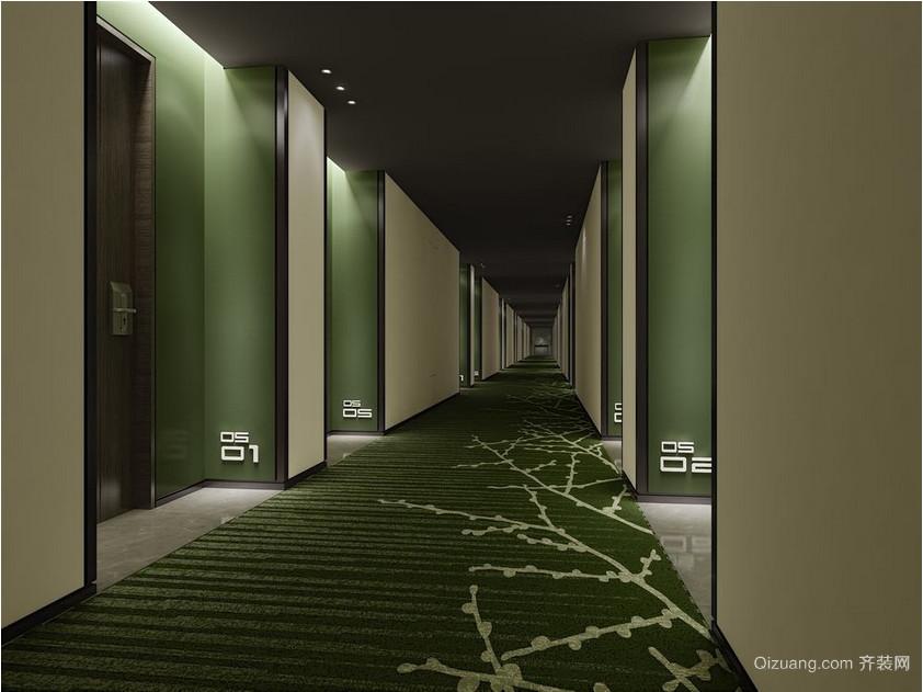 主题酒店混搭风格装修效果图实景图