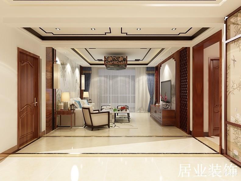 京泰盘龙湾中式风格装修效果图实景图