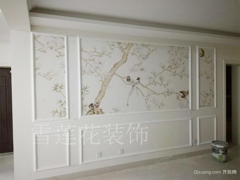 北辰花园欧式风格装修效果图实景图