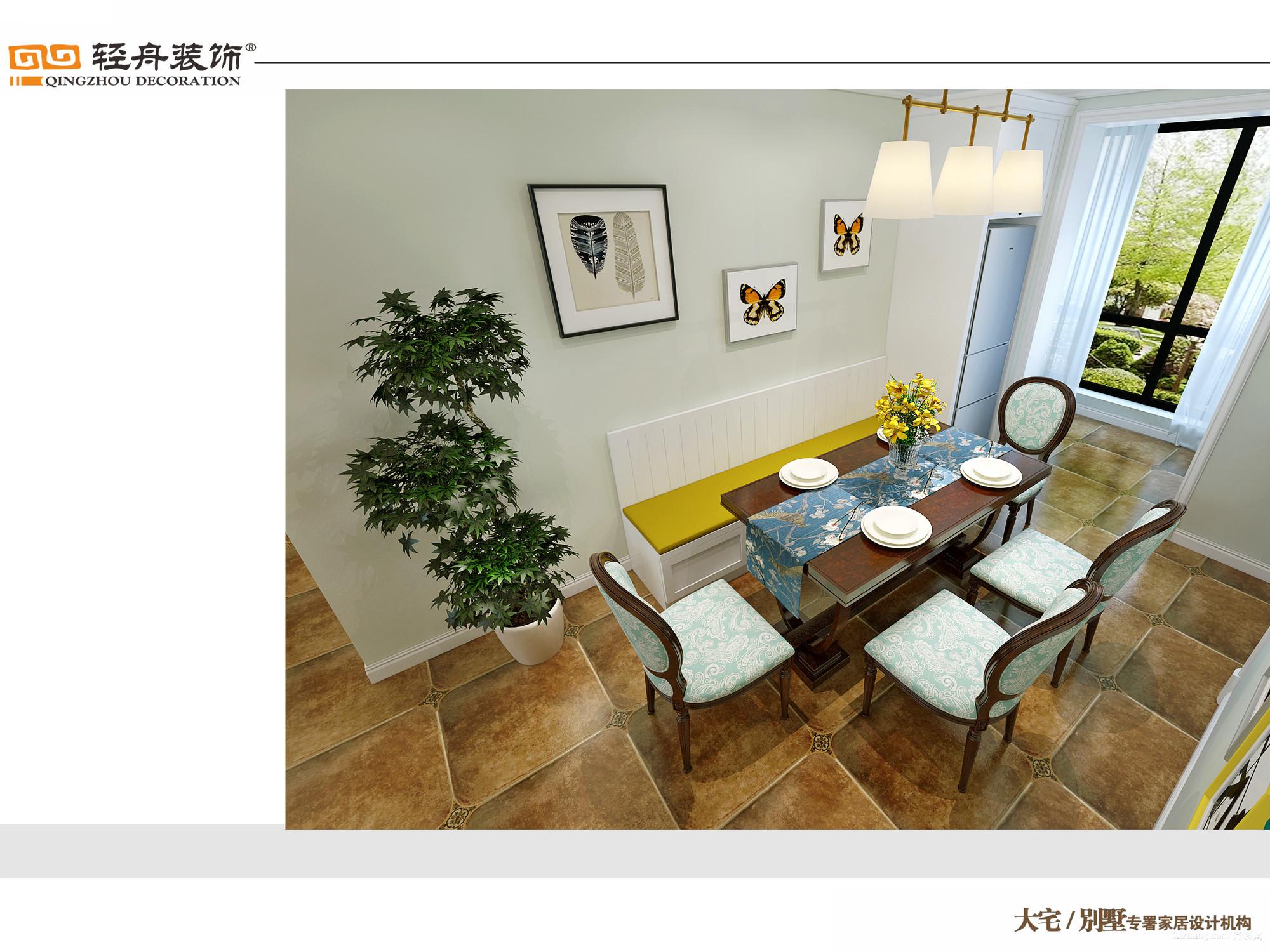 天平花园美式风格装修效果图实景图