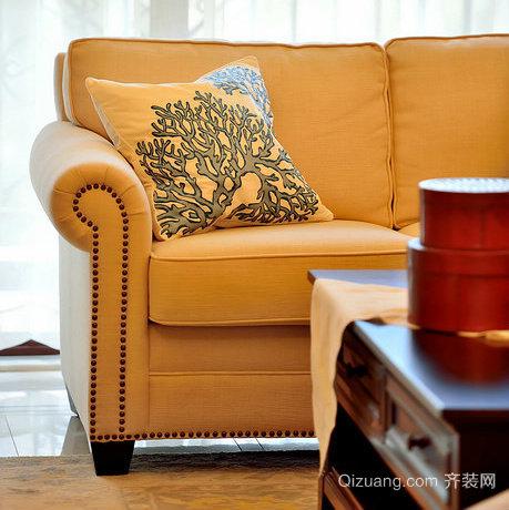 华宇龙湾美式风格装修效果图实景图