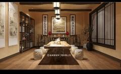 中式风格-茶室