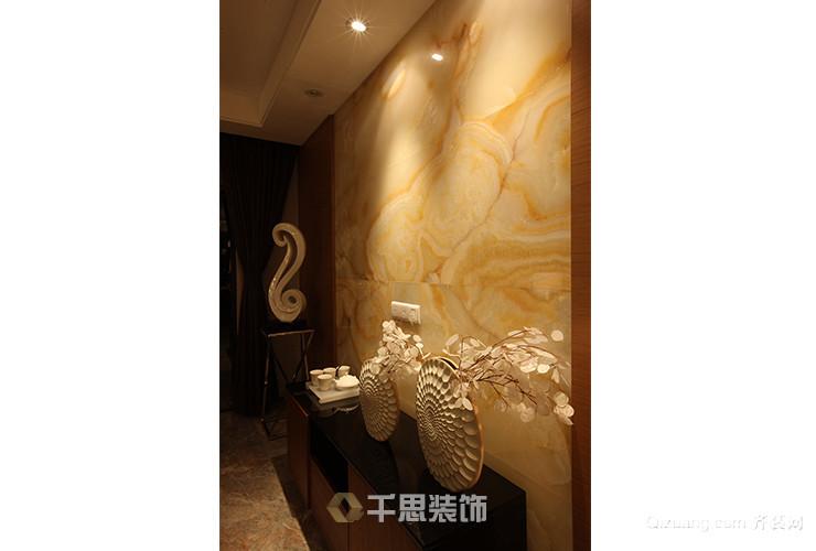 东城国际花园中式风格装修效果图实景图