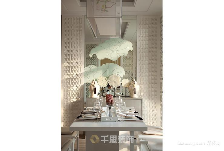 中元湘江翰林中式风格装修效果图实景图