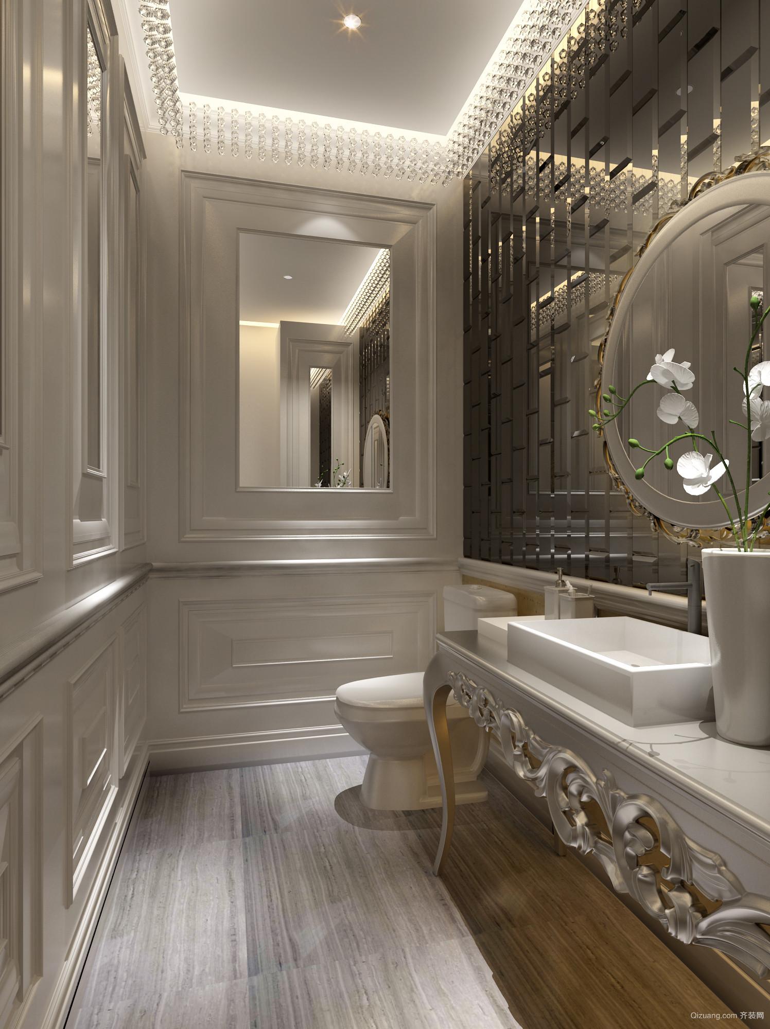 柳州套房欧式风格装修效果图实景图