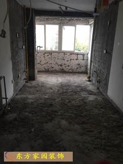 澳桦园旧房拆除现场