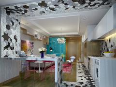 地中海风格-国润城样板间loft