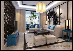 中式风格-金融街·金色漫香苑260平米新中式风