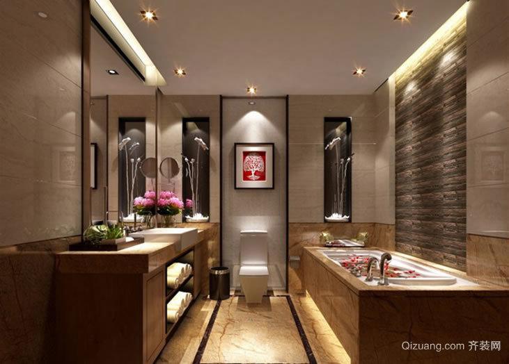 锦绣天城中式风格装修效果图实景图