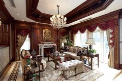 古典风格-柏庄丽城别墅古典欧式风格效果图