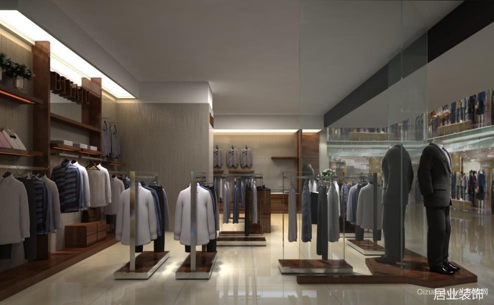 新市区新玛特购物广场现代简约装修效果图实景图