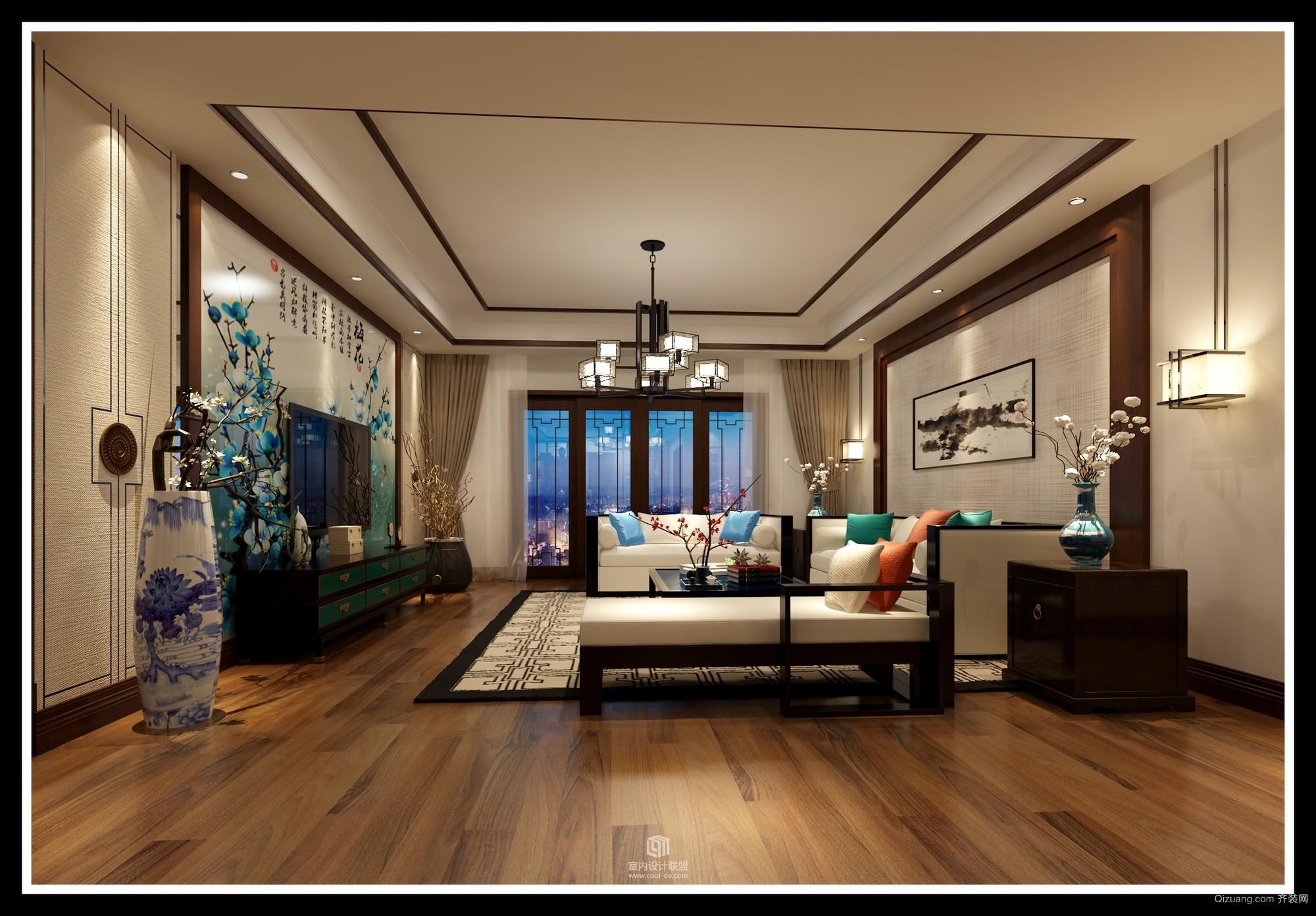 新訾家园现代简约装修效果图实景图